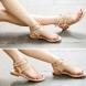 Стил на деня - равни сандали