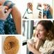Как да си изплетем сами лесно шал на ръцете си, без игли - Видео