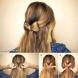 Как да си направим ефектна панделка на косата и няколко други оригинални идеи за прически
