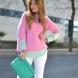 Съвременните розови пуловери - Тенденция за есен / зима 2014-2015