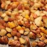 Чеснови картофки с мед