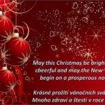 Коледни празнични пожелания