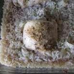Пилешки бутчета с ориз на фурна