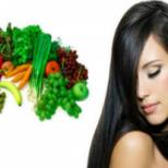 Как да запазим блясъкът на косата след диета