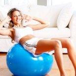 Домашни упражнения за заети жени