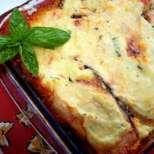 Патладжани на фурна с домати и сирене