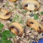Гювечета с гъби и ориз