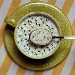 Студена макаронена супа с краставици и кисело мляко