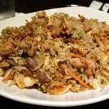 Пиле с ориз и кестени
