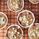 Овесено суфле с плодове и ядки