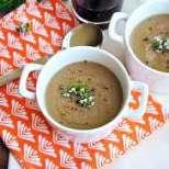 Брюкселска гъбена супа
