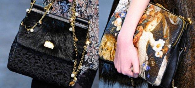 Предесенна колекция чанти на Dolce Gabbana за 2012