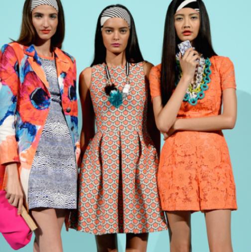 Цветовете за пролет / лято 2015