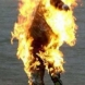 Човек се самозапали в центъра на София