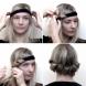 Лесен начин за постигане на обем в косата, без термична обработка и химикали