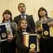 Крисия, Хасан и Ибрахим с Почетен знак на президента Росен Плевнелиев