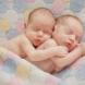 Еднояйчни близнаци се родиха в различни дни