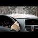 Най-нормално си кара в снега и изведнъж се случва това! (ВИДЕО)