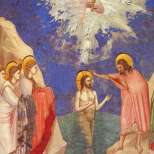 Духът Божий слиза като гълъб на Богоявление