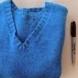 Жена сряза пуловера си и това, което направи от него е удивително!