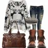 Модни комбинации за зима 2015