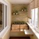 Как да си направите уютно остъклен балкон: 12 дизайнерски решения