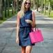 Дънковата рокля: Задължителна дреха за този сезон