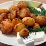 Диета с пресни картофи и сирене. Разградете мазнините до последния грам