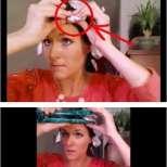 Постави алуминиево фолио на главата си и резултатът, който се е получил ще ви накара и вие да го направите! (Видео)