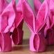 Великденски декоративни салфетки под формата на зайче-видео ръководство