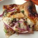 Пица с пиле и барбекю сос
