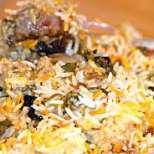 Арабски ориз с телешко и зеленчуци