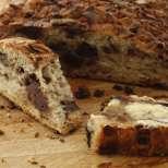 Кокосово-шоколадов хляб