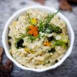 Здравословно ризото с кафяв ориз и зеленчуци