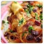 Пиле по марокански с тиква и нахут