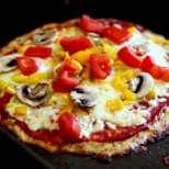 Пица без тесто с карфиол