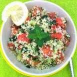 Зеленчукова салата с кус-кус