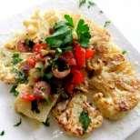 Вегетариански стек с карфиол
