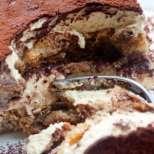 Лека бишкотена торта