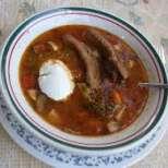 Ароматна овнешка супа