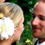 Сватбените прически на звездите 2013