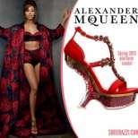 Новата колекция пролетни обувки на Alexander McQueen