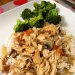 Диетично пилешко с ориз и зеленчуци
