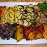 Мариновани зеленчуци на барбекю