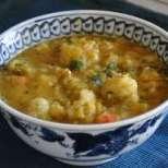 Пилешка супа с карфиол