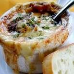 Френска лучена супа на грил