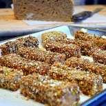 Хрупкави пръчици от френски тост с бренди
