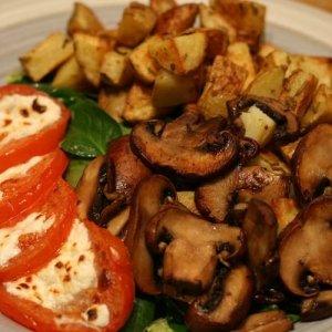 Рецепти с картофи с гъби