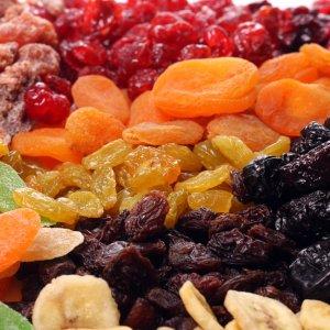 Сушени плодове за болезнен цикъл