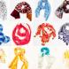 Цветните шалове, които са хит за пролетните дни!